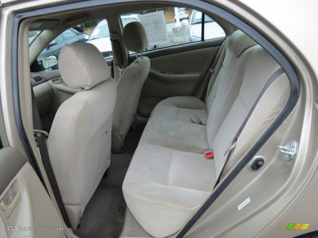 Beige interior 2007 toyota corolla ce photo 68739733 for Interior toyota corolla