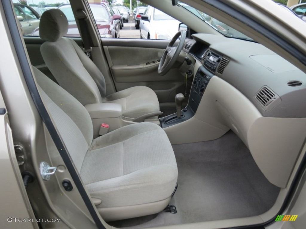 Beige interior 2007 toyota corolla ce photo 68739748 for Interior toyota corolla