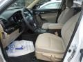 Beige Front Seat Photo for 2011 Kia Sorento #68741338