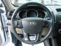 Beige Steering Wheel Photo for 2011 Kia Sorento #68741410