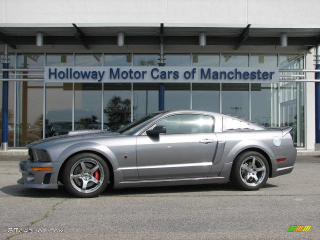 2007 Mustang ROUSH Stage 3 Coupe - Tungsten Grey Metallic / Dark Charcoal photo #1