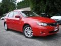 Lightning Red 2008 Subaru Impreza 2.5i Wagon