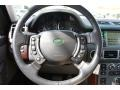 2007 Land Rover Range Rover Charcoal Interior Steering Wheel Photo