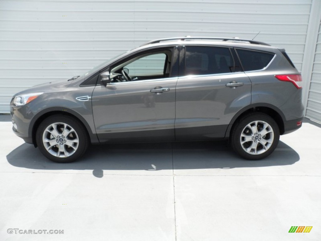 Sterling Gray Metallic 2013 Ford Escape Sel 1 6l Ecoboost