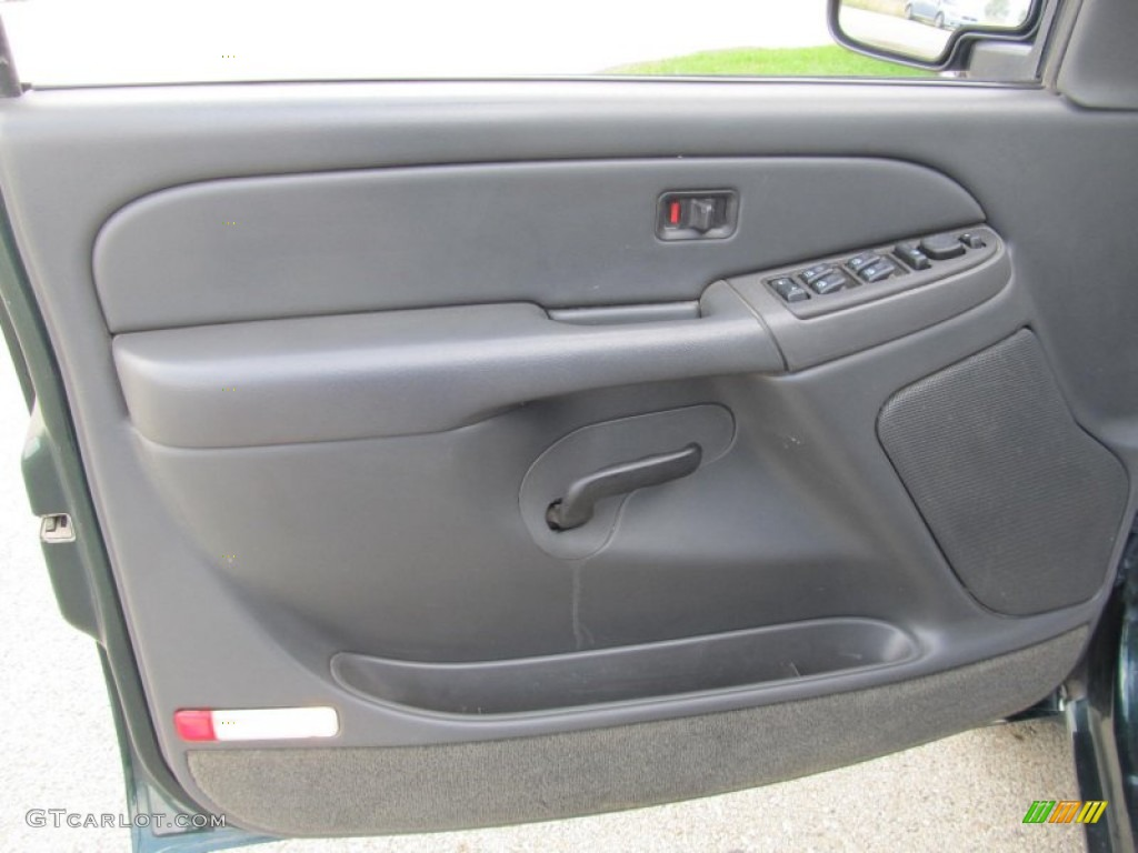 2004 Gmc Sierra 2500hd Sle Crew Cab 4x4 Pewter Door Panel Photo 68755825 Gtcarlot Com