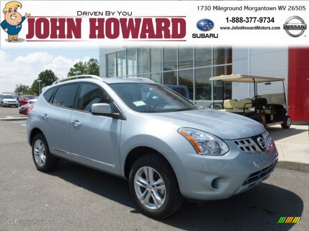 2012 Frosted Steel Nissan Rogue Sv Awd 68707855