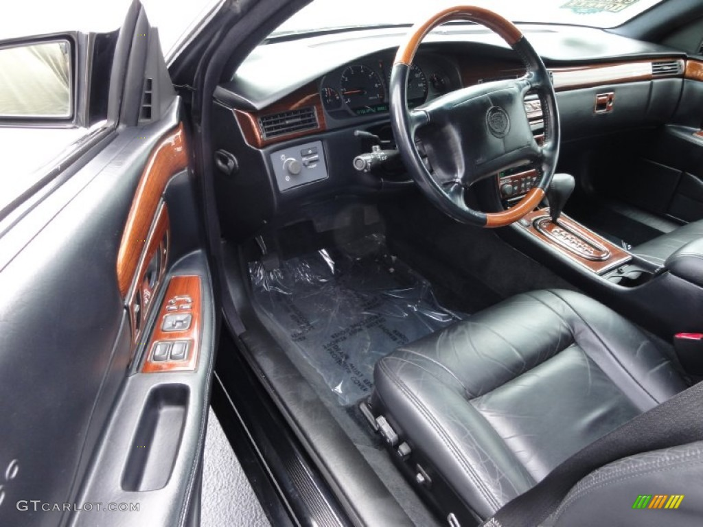 Black Interior 2002 Cadillac Eldorado Esc Photo 68758984
