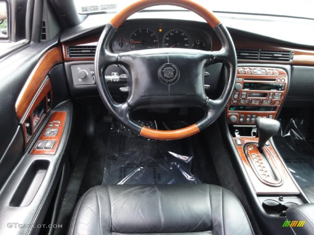 2002 Cadillac Eldorado Esc Black Steering Wheel Photo 68759074
