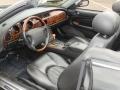 2003 Jaguar XK Charcoal Interior Prime Interior Photo