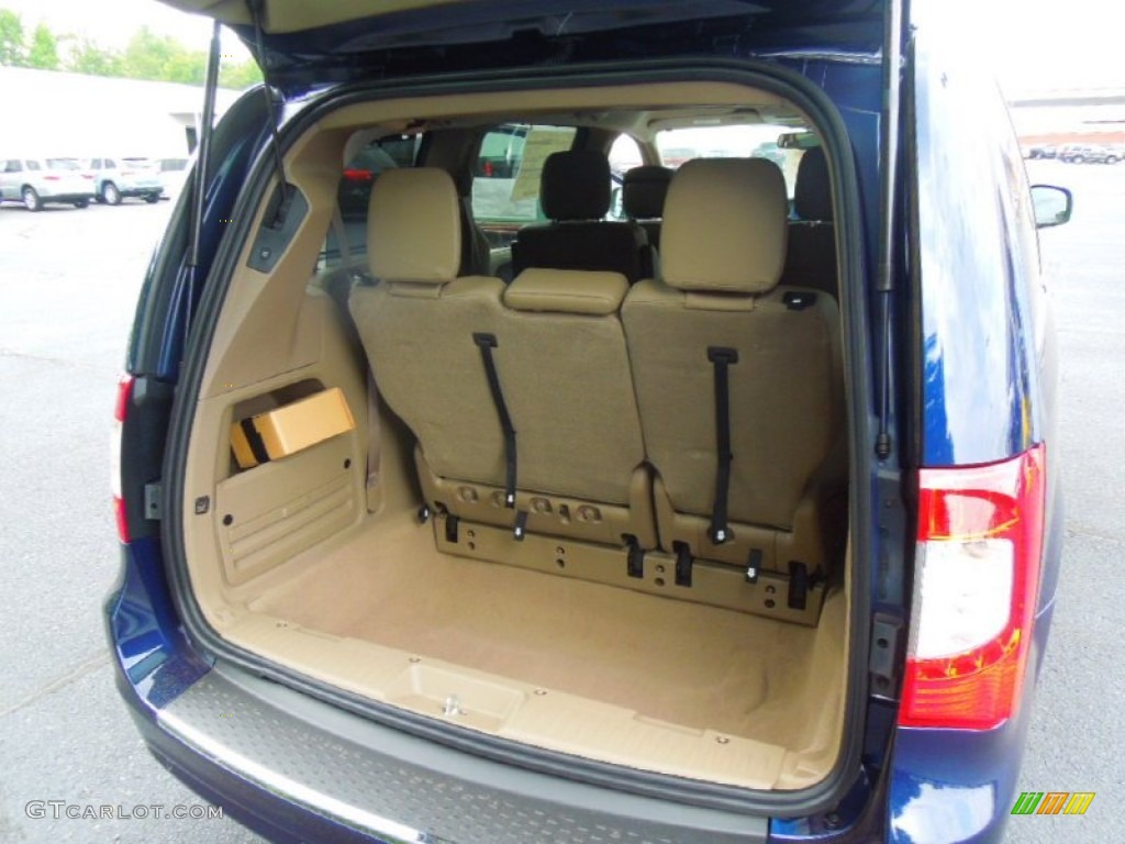 2012 Chrysler Town Amp Country Touring L Trunk Photo