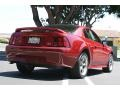 2000 Laser Red Metallic Ford Mustang V6 Coupe  photo #5