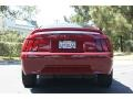 2000 Laser Red Metallic Ford Mustang V6 Coupe  photo #6