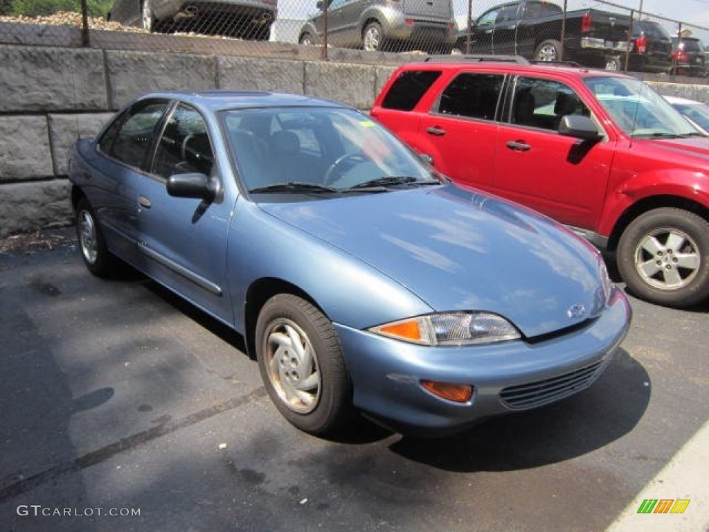 medium opal blue metallic 1999 chevrolet cavalier sedan. Black Bedroom Furniture Sets. Home Design Ideas