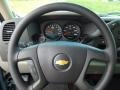 2012 Blue Granite Metallic Chevrolet Silverado 1500 LS Extended Cab 4x4  photo #15