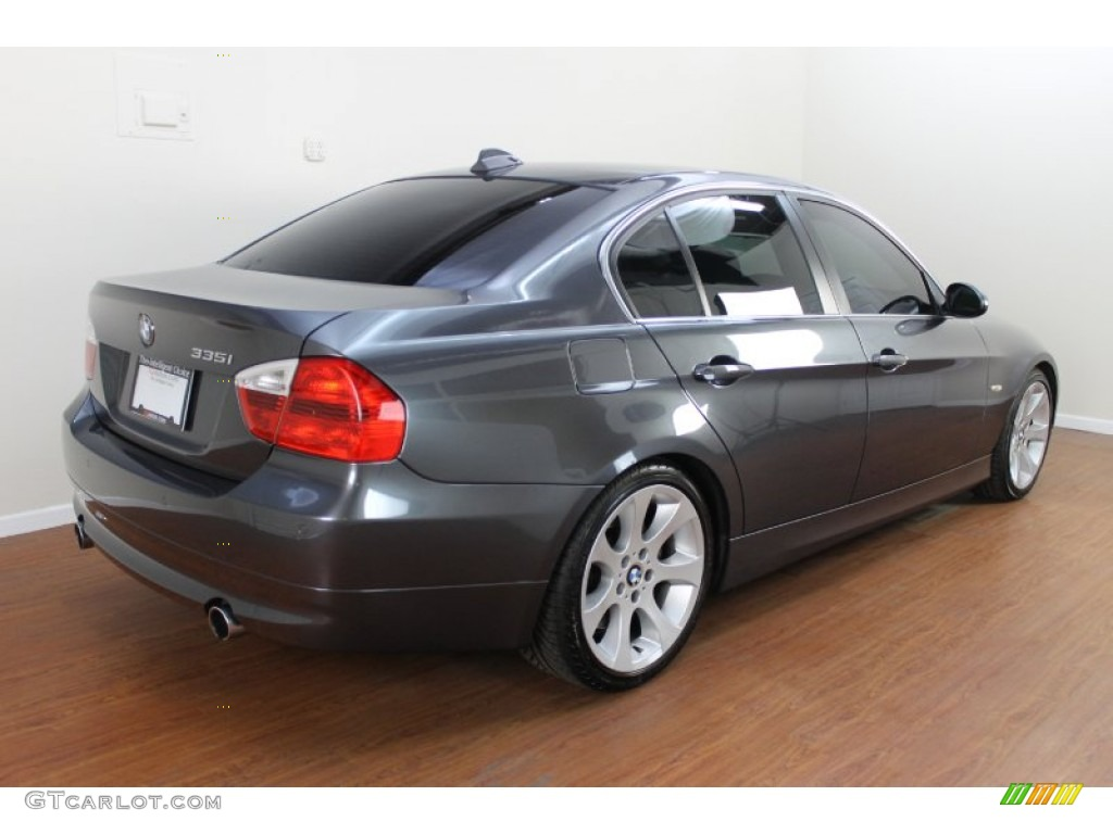 sparkling graphite metallic 2007 bmw 3 series 335i sedan. Black Bedroom Furniture Sets. Home Design Ideas