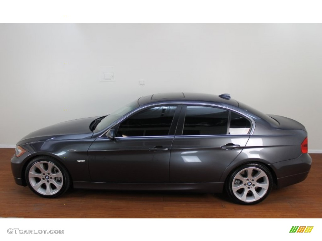 sparkling graphite metallic 2007 bmw 3 series 335i sedan. Black Bedroom Furniture Sets. Home Design Ideas