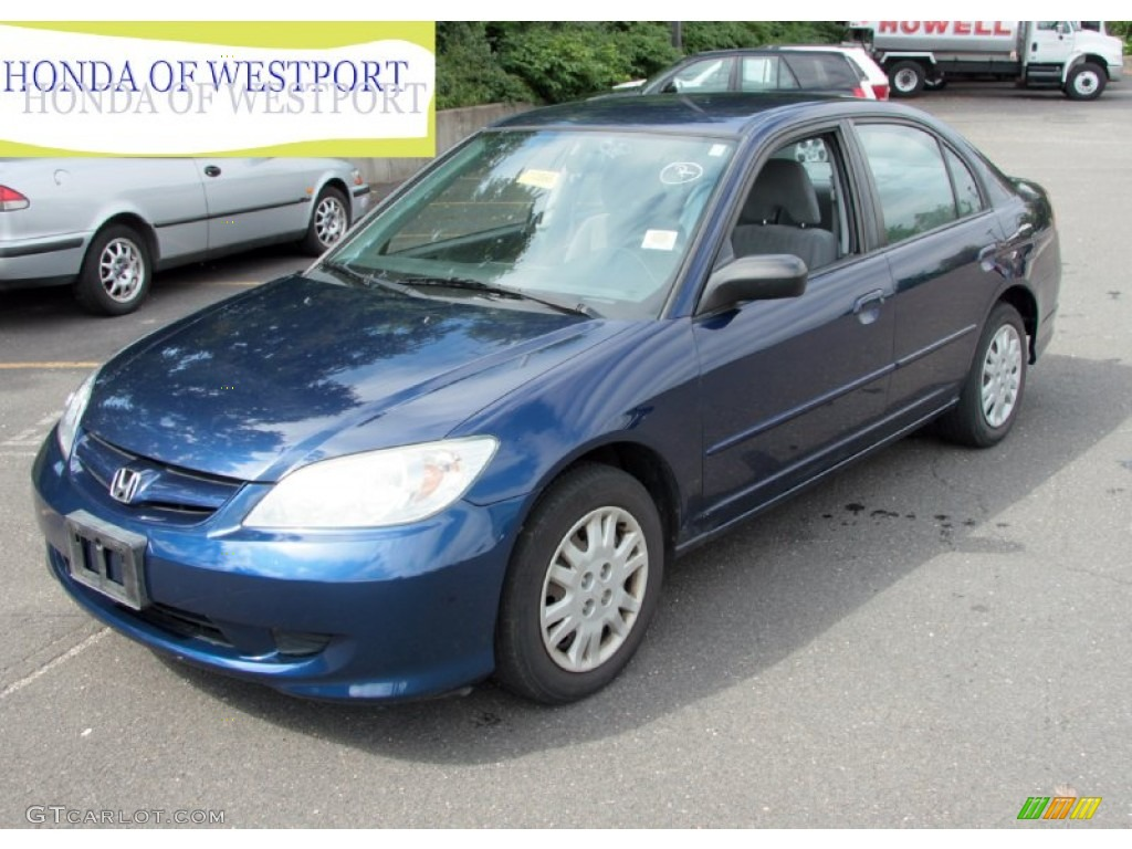 2004 Honda Civic Coupe Ex 2004 Eternal Blue Pearl Honda Civic LX Sedan #68771855 ...