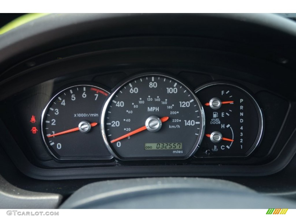 2011 Mitsubishi Galant Fe Gauges Photo 68797094