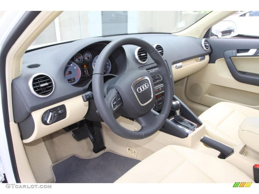 Luxor Beige Interior 2013 Audi A3 2 0 Tfsi Photo 68797392