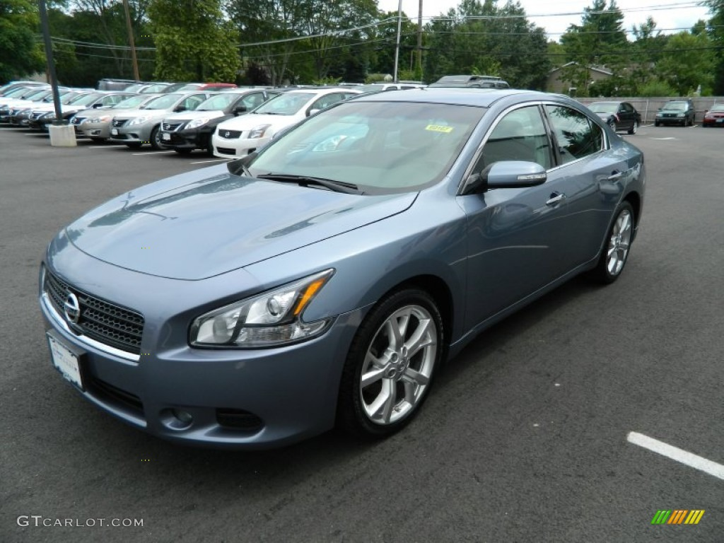 2011 ocean gray nissan maxima 3 5 sv 68772349 car color galleries. Black Bedroom Furniture Sets. Home Design Ideas