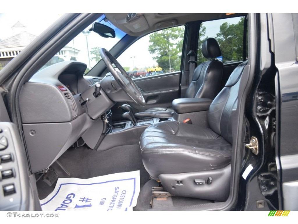 2000 jeep grand cherokee laredo 4x4 interior photo