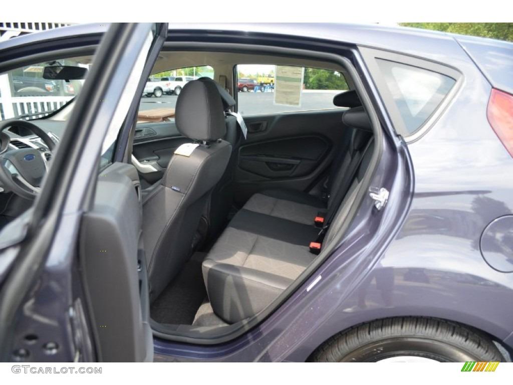 Charcoal Black Interior 2013 Ford Fiesta Se Hatchback Photo 68799782