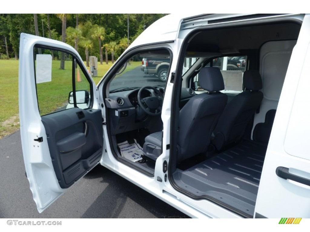 Dark Grey Interior 2012 Ford Transit Connect Xlt Van Photo 68800256
