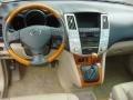 Ivory 2008 Lexus RX 400h Hybrid Dashboard