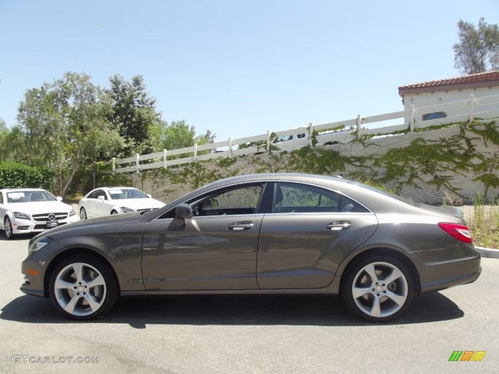 Indium Grey Metallic 2013 Mercedes Benz Cls 550 Coupe