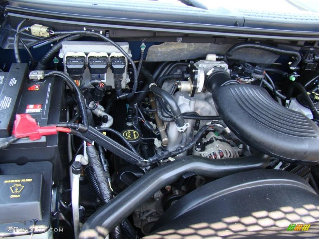 2004 ford f150 xlt supercrew 4 6 liter sohc 16v triton v8 for Motor ford f150 v8