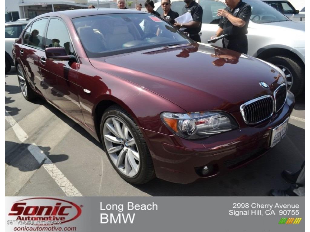 Barbera Red Metallic BMW 7 Series