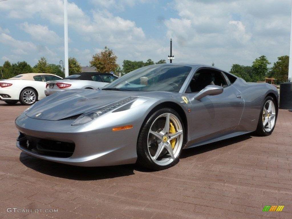 2014 Ferrari 458 Spider >> Grigio Titanio (Grey Metallic) 2012 Ferrari 458 Italia Exterior Photo #68825558 | GTCarLot.com