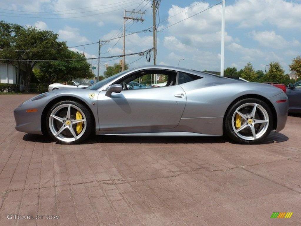Grigio Titanio Grey Metallic 2012 Ferrari 458 Italia