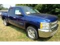 2013 Blue Topaz Metallic Chevrolet Silverado 1500 LT Crew Cab 4x4  photo #1