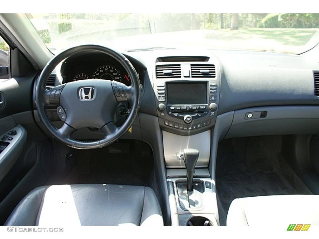 2003 honda accord ex sedan gray dashboard photo 68833224. Black Bedroom Furniture Sets. Home Design Ideas