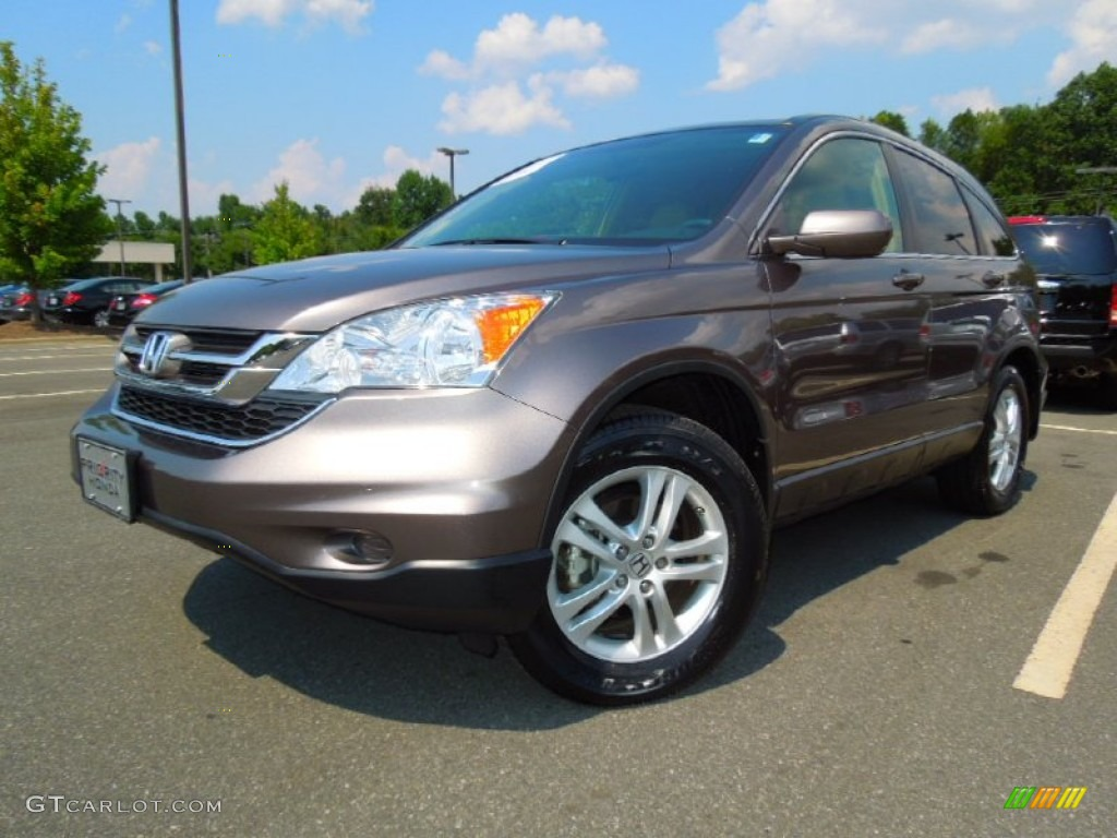 2011 CR-V EX-L - Urban Titanium Metallic / Ivory photo #1