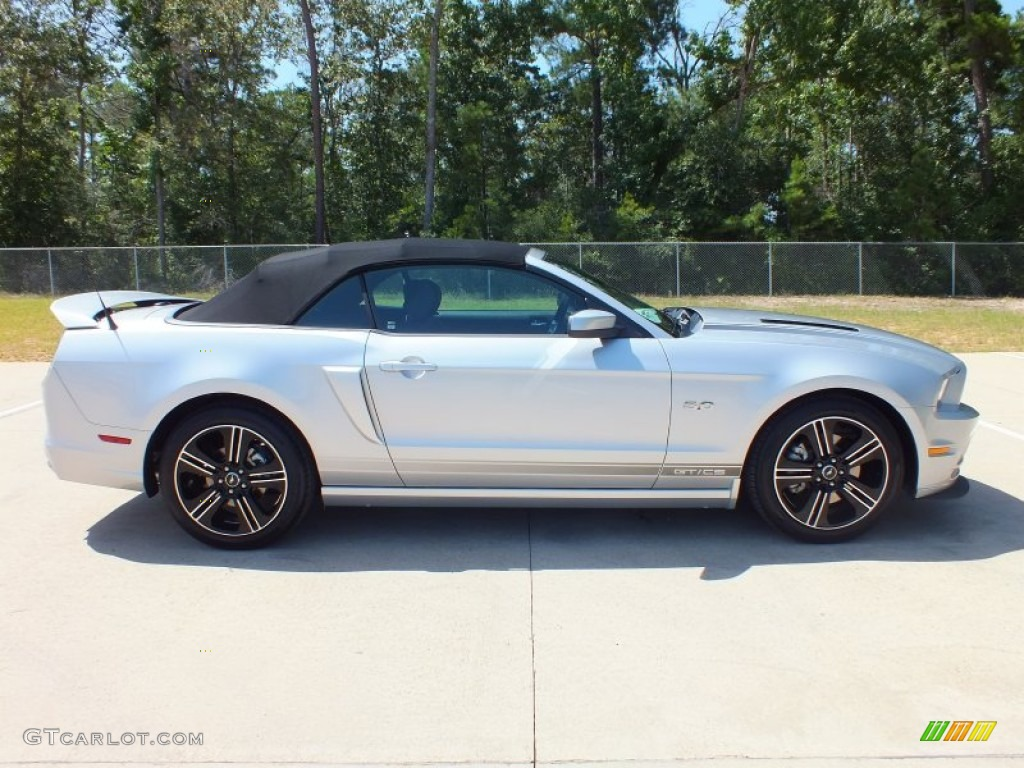Ingot Silver Metallic 2013 Ford Mustang Gt Cs California