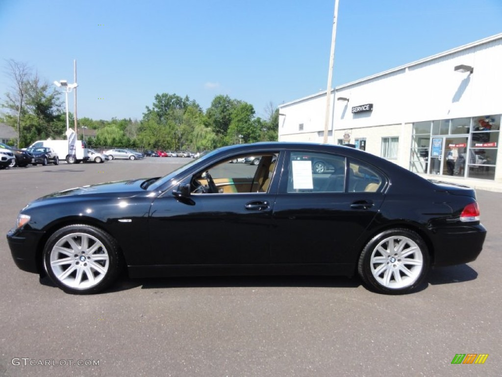 Jet Black 2006 BMW 7 Series 750i Sedan Exterior Photo 68840820