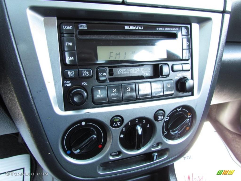 2002 Subaru Impreza WRX Sedan Controls Photos