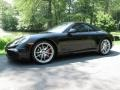 Black 2012 Porsche New 911 Carrera S Cabriolet