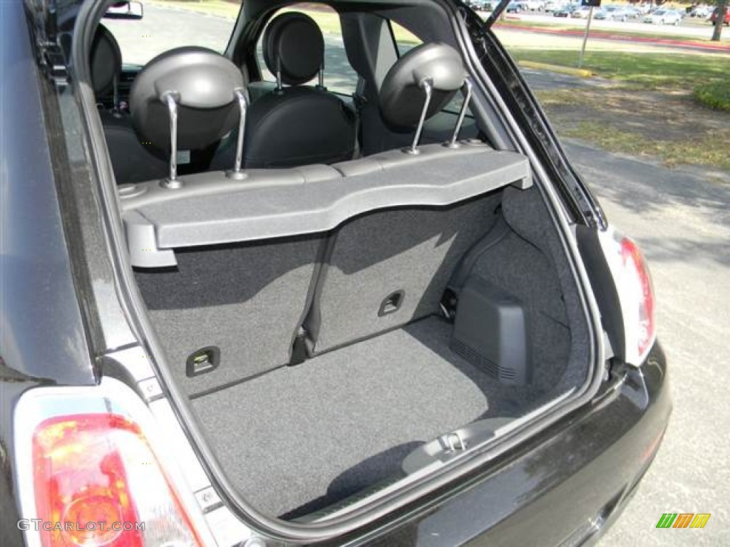 Fiat 500 Abarth Trunk 2012 Fiat 500 S...