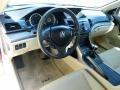 Parchment 2009 Acura TSX Interiors
