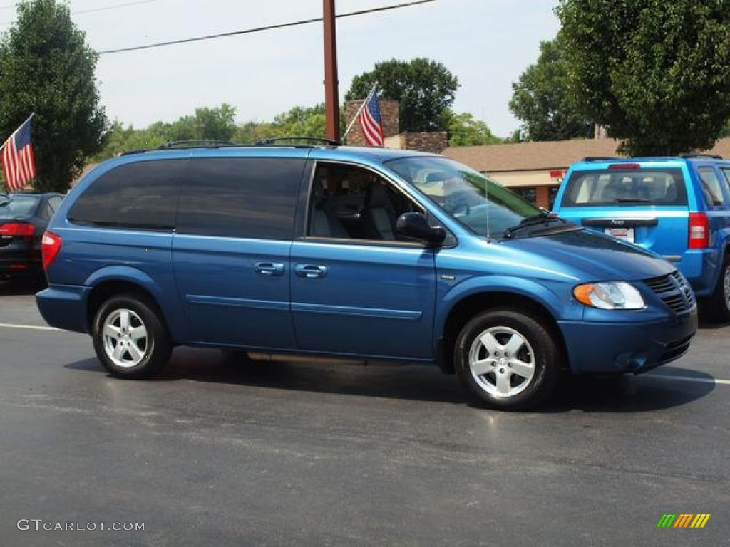 atlantic blue pearl 2006 dodge grand caravan sxt exterior photo. Cars Review. Best American Auto & Cars Review