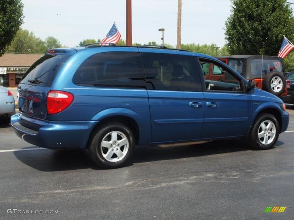 atlantic blue pearl 2006 dodge grand caravan sxt exterior photo 68853150. Black Bedroom Furniture Sets. Home Design Ideas