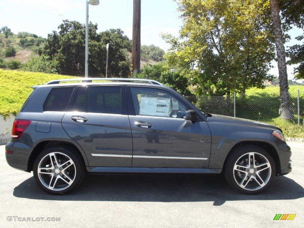 Steel Grey Metallic 2013 Mercedes Benz Glk 350 Exterior