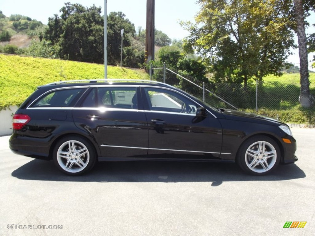 Black 2013 mercedes benz e 350 4matic wagon exterior photo for 2013 mercedes benz e350 4matic
