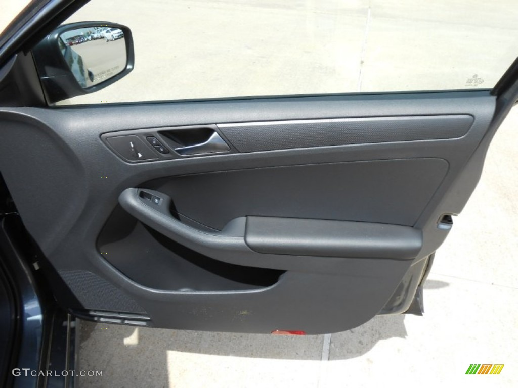2013 Volkswagen Jetta S Sedan Titan Black Door Panel Photo 68862105