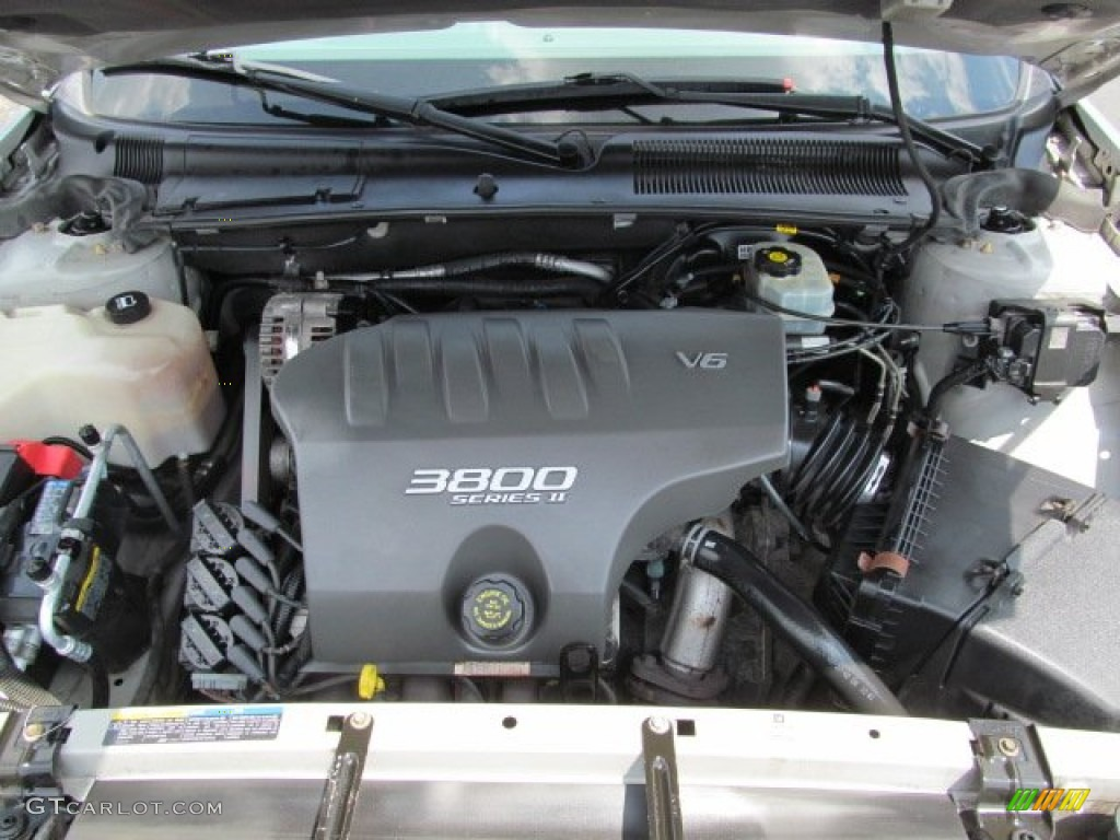 2002 Buick LeSabre Custom 3.8 Liter OHV 12-Valve 3800 Series II V6 Engine  Photo