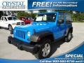 2011 Cosmos Blue Jeep Wrangler Rubicon 4x4  photo #1