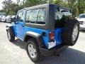 2011 Cosmos Blue Jeep Wrangler Rubicon 4x4  photo #3